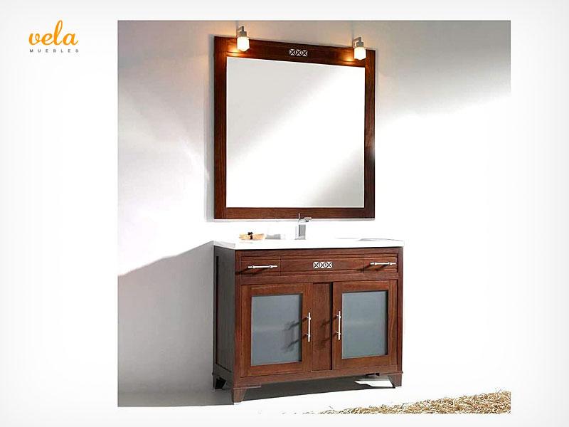 mueble baño wengue