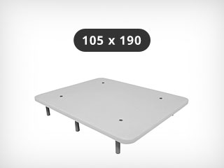 Base tapizada 105×190