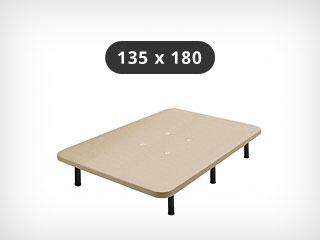 Base tapizada 135x180