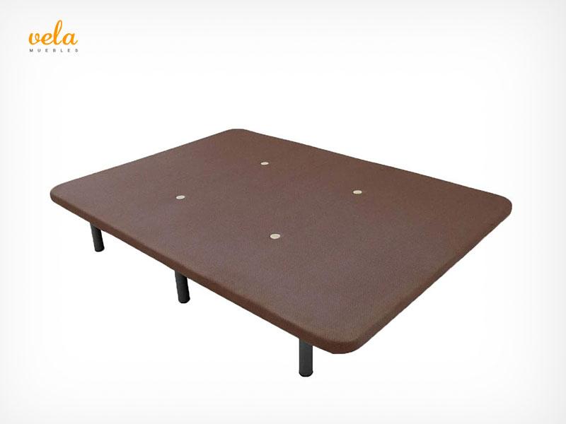 base tapizada 135x200