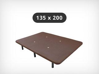 Bases tapizadas 135x200