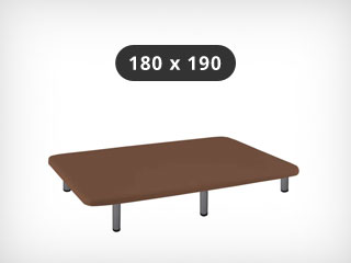 Base tapizada 180x190