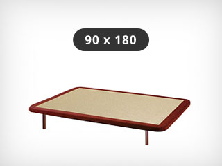Base tapizada 90x180