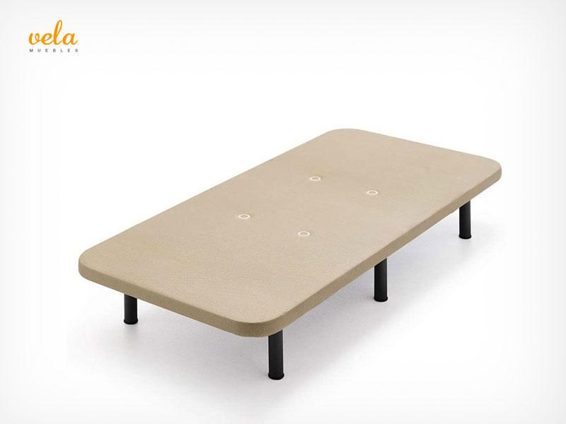 base tapizada 90x190