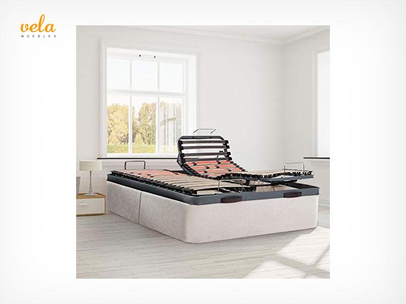 canape con somier articulado electrico