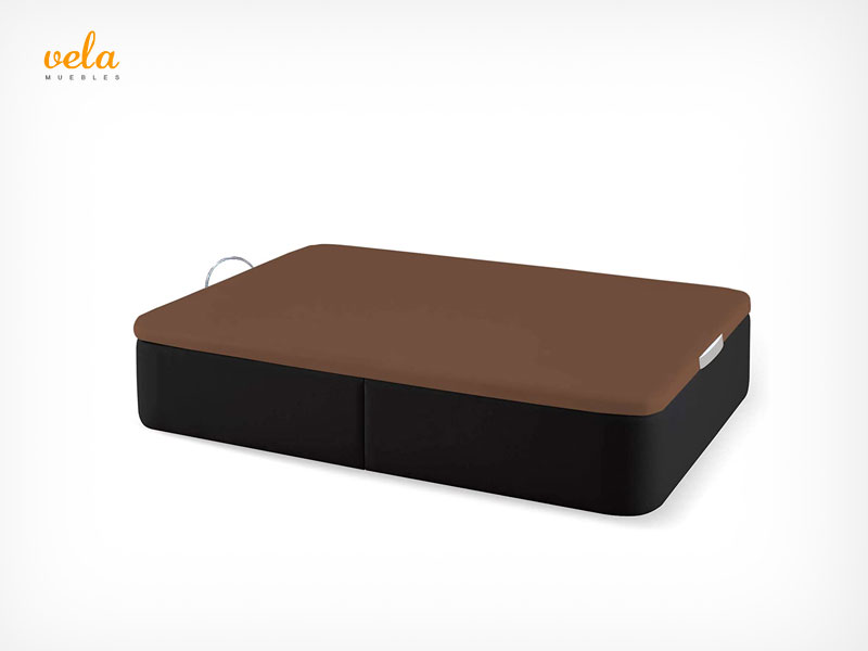 canapé color chocolate